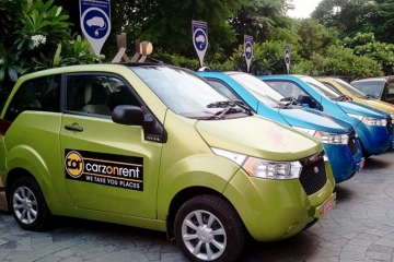 Carzonrent launches COR Ride App