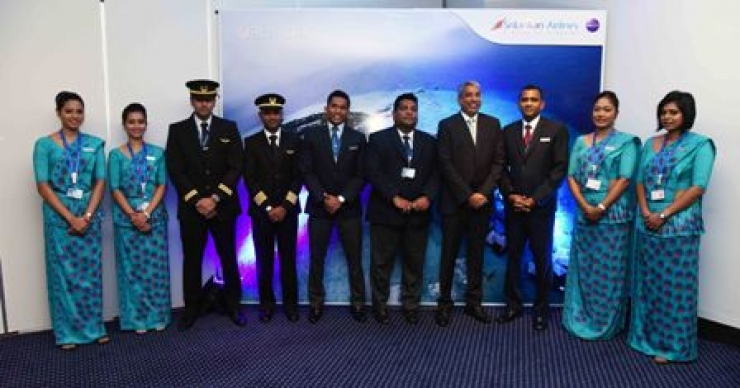 SriLankan flies to Gan Island